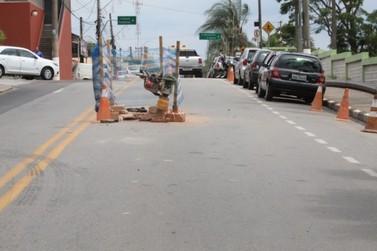 SAE substitui e moderniza rede de esgoto da Avenida Paulo Prado em Louveira
