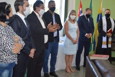 Benção marca primeiro dia do novo governo em Louveira