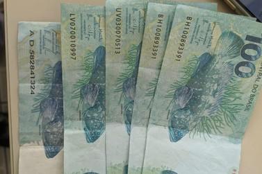 Suspeito é preso com cinco cédulas falsas de R$ 100 em Jundiaí