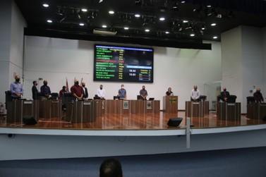 Câmara realiza primeira sessão do ano com votação de dois Projetos de Resolução