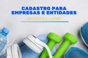 Louveira vai cadastrar empresas que promovem atividades físicas e esportes