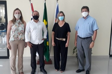Louveira visita Santana de Parnaíba para conhecer projetos criados na pandemia