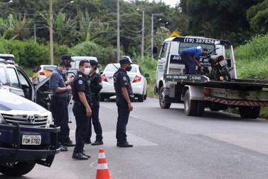 Operação da Guarda e PM fiscaliza documentos e emissão de barulho de motocicleta