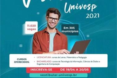 Itatiba - Inscrições para Vestibular Univesp vão até próximo dia 20