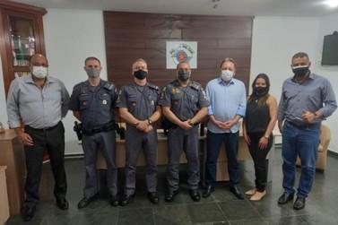 Louveira renova convênio com o Estado e inicia reforma da base da Polícia Milita