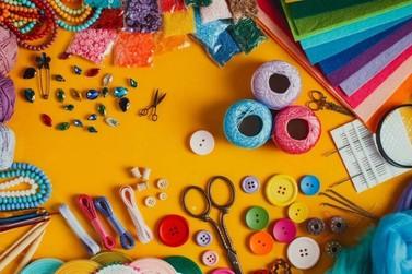 Estão abertas inscrições para 3 cursos gratuitos e presenciais de artesanato