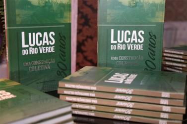 Livro sobre os 30 anos de Lucas do Rio Verde é lançado durante Expolucas 2018