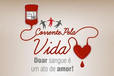 Campanha de Doação de Sangue 'Corrente pela Vida' acontece neste sábado (20)