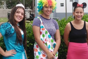 Escola Militar Tiradentes faz alegria de crianças carentes em Lucas do Rio Verde