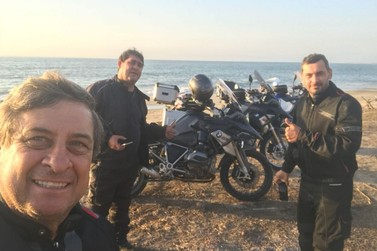 Pilotos de Lucas do Rio Verde cortam América do Sul de moto (parte 2)