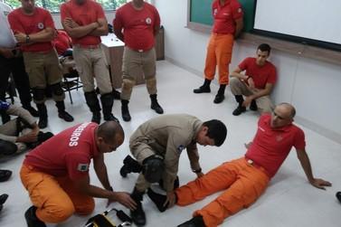 Corpo de Bombeiros de Lucas do Rio Verde recebe curso de APH