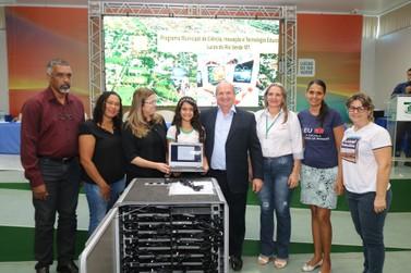 Lançado oficialmente programa de educação digital em Lucas do Rio Verde