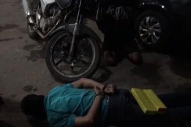 Traficantes são presos na rodoviária de Lucas do Rio Verde com 2,8kg de drogas