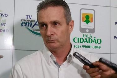 Ex-presidente da Câmara de Lucas do Rio Verde fica sem gabinete para trabalhar