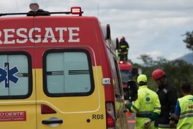 Motociclista sofre traumatismo craniano após acidente em Sorriso