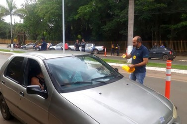 Detran e Guarda Municipal de Lucas do Rio Verde realizam blitz da Lei Seca