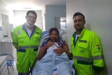 Mulher dá à luz às margens da BR-163 em Mato Grosso