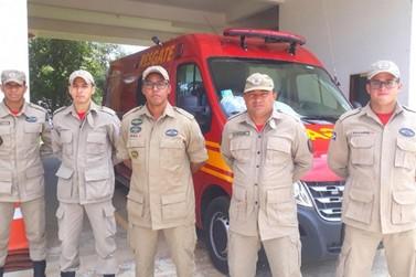 Corpo de Bombeiros de Lucas do Rio Verde recebe nova ambulância