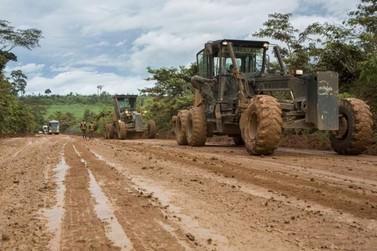 Ministro Gomes de Freitas anuncia licitação da BR-163 assim que obras terminarem