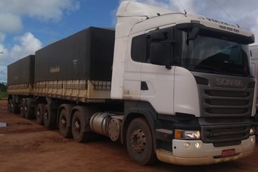 Polícia de Lucas do Rio Verde recupera carreta. Motorista segue desaparecido