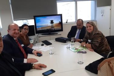 Em Brasília, Binotti participa de reuniões na Anac e FNDE