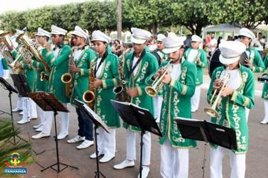 Banda Musical de Lucas do Rio Verde participa de festival em Itanhangá