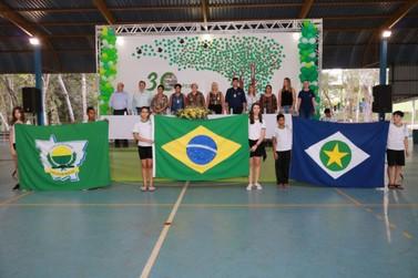 Escola Eça de Queirós, de Lucas do Rio Verde, comemora 30 anos