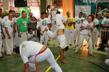 Lucas do Rio Verde recebeu capoeiristas do Brasil e do exterior no final de sema