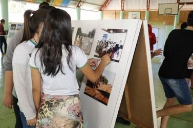 Museu itinerante de Lucas do Rio Verde visita Escola Luiz Carlos Ceconello
