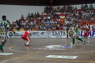 Time de Futsal de Lucas do Rio Verde avança na Liga Mato-grossense