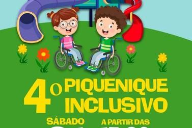4º Edição do Piquenique Inclusivo será realizado no próximo dia 31