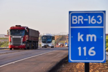Rota do Oeste pode perder concessão da BR-163 em Mato Grosso, diz ANTT