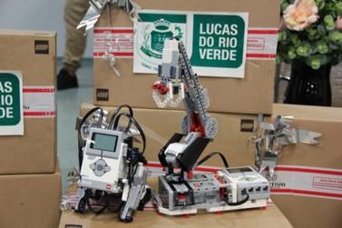 Escolas municipais de Lucas do Rio Verde receberão kits de robótica