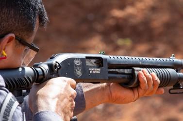 Polícia de Lucas do Rio Verde passa por curso de aperfeiçoamento de tiro