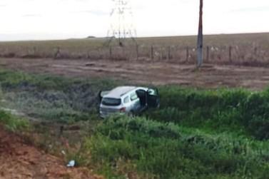 Veículo da Prefeitura de Lucas do Rio Verde se envolve em acidente na BR-163
