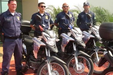 Guarda Municipal de Lucas do Rio Verde recebe novas motocicletas e armas