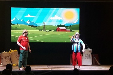 Tchó e Béppi fazem show beneficente em Lucas do Rio Verde
