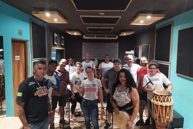 Capoeirista de Lucas do Rio Verde grava CD com músicas de roda em Goiânia