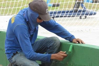 Lucas do Rio Verde: Arena do Bairro Menino Deus recebe retoques finais