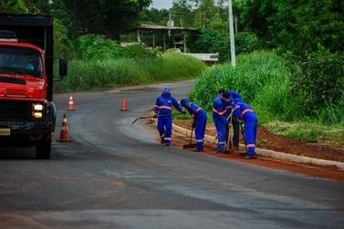 Cooperação para asfaltamento atenderá municípios vizinhos a Lucas do Rio Verde