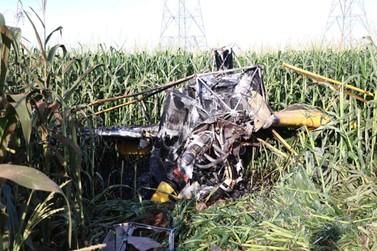 Queda de aeronave agrícola derruba fiação elétrica e força interdição da BR 163