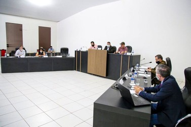Combate ao Covid-19 centraliza debates durante sessão da Câmara de Vereadores