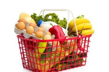 Queda de preços da cesta de compras de famílias de renda mais baixa
