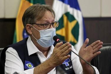Secretário de Saúde testa positivo para Covid-19 e vai para isolamento