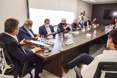 Em reunião, empresa ferroviária confirma investimento em Mato Grosso