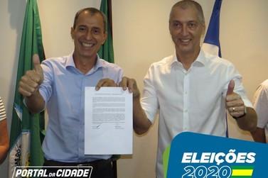 Coligação Gente que Faz registra candidatura de Miguel Vaz à Prefeitura