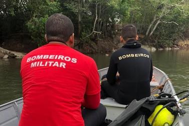 Bombeiros retomam buscas a jovem que teria se afogado no Rio Verde