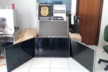 Homem que furtou escolas municipais já havia furtados PSF's, diz polícia