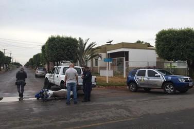 Motociclista morre após colisão grave entre moto e camioneta em Lucas