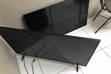 Polícia Civil e Militar recuperam televisores levados por criminosos em Lucas